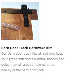 Goldberg Barn Door Tracks